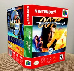 World Is Not Enough 007 (The) N64 Game Case with Internal Artwork