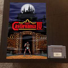 Super Castlevania IV Poster (18x12 in)