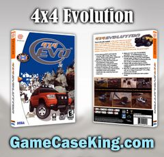4x4 Evolution Sega Dreamcast Game Case