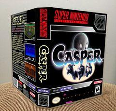 Casper SNES Game Case with Internal Artwork