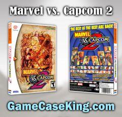 Marvel vs. Capcom 2 Sega Dreamcast Game Case
