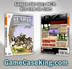 Gundam Side Story 0079: Rise from the Ashes Sega Dreamcast Game Case