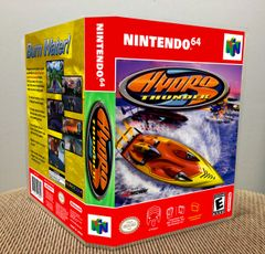 Hydro Thunder N64 Game Case with Internal Artwork