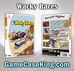 Wacky Races Sega Dreamcast Game Case