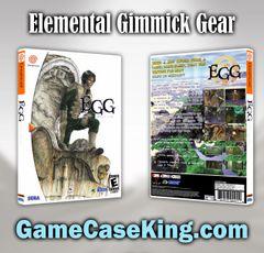Elemental Gimmick Gear Sega Dreamcast Game Case