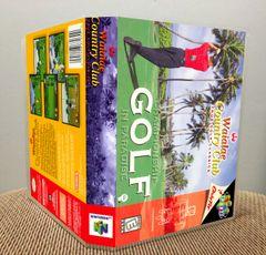 Waialae Country Club: True Golf Classics N64 Game Case with Internal Artwork