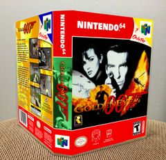 Goldeneye 007 N64 Game Case with Internal Artwork