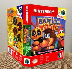 Banjo-Tooie N64 Game Case with Internal Artwork