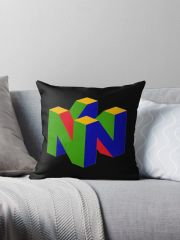 ~HOT!~ N64 Logo Pillow ~FREE SHIPPING~