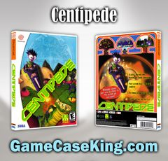 Centipede Sega Dreamcast Game Case