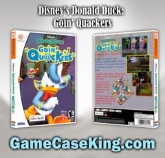 Disney's Donald Duck: Goin' Quackers Sega Dreamcast Game Case