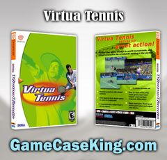 Virtua Tennis Sega Dreamcast Game Case