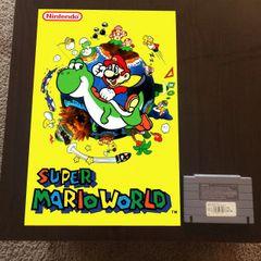 Super Mario World Poster (18x12 in)