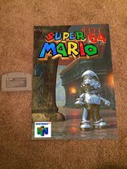 Super Mario 64 Poster (18x12 in)