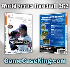 World Series Baseball 2K2 Sega Dreamcast Game Case