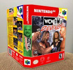 WCW/nWo Revenge N64 Game Case with Internal Artwork