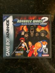 Advance Wars 2 GBA Game Case