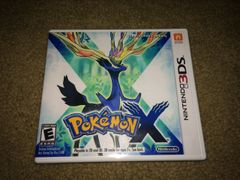 Pokemon X 3DS Custom Game Case