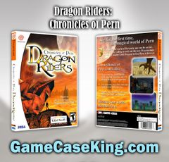 Dragon Riders: Chronicles of Pern Sega Dreamcast Game Case