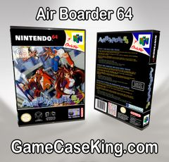 Air Boarder 64 N64 Game Case (PAL)