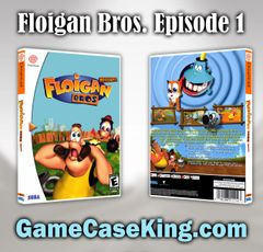 Floigan Bros. Episode 1 Sega Dreamcast Game Case