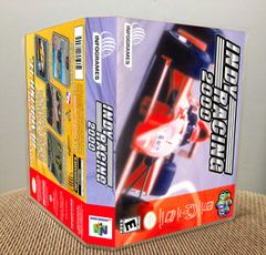 Indy Racing 2000 N64 Game Case with Internal Artwork
