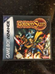 Golden Sun GBA Game Case