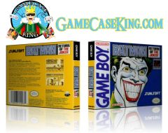 Batman Return of the Joker Gameboy Game Case