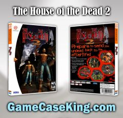 House of the Dead 2, The Sega Dreamcast Game Case