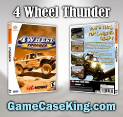 4 Wheel Thunder Sega Dreamcast Game Case