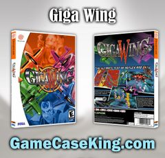 Giga Wing Sega Dreamcast Game Case