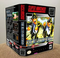 Blues Brothers, The SNES Game Case with Internal Artwork
