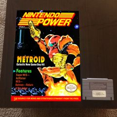 Nintendo Power Volume 31 Poster - Metroid (16x12 in)