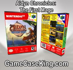 Aidyn Chronicles: The First Mage N64 Game Case
