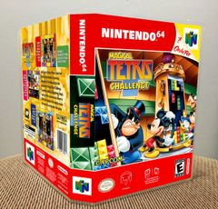 Magical Tetris Challenge N64 Game Case with Internal Artwork