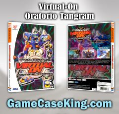 Virtual-On OratorioTangram Sega Dreamcast Game Case