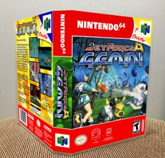 Jet Force Gemini N64 Game Case with Internal Artwork