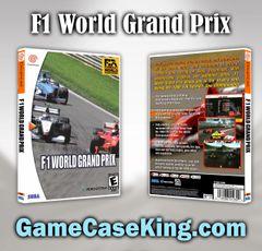 F1 World Grand Prix Sega Dreamcast Game Case