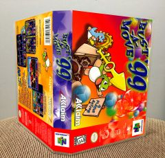 Bust-A-Move '99 N64 Game Case with Internal Artwork