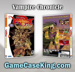 Vampire Chronicle Sega Dreamcast Game Case
