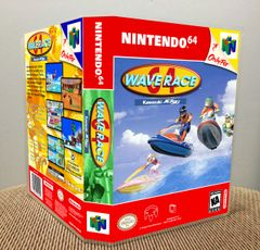 Wave Race 64 N64 Game Case with Internal Artwork