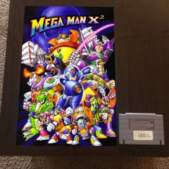 Mega Man X2 Poster (18x12 in)