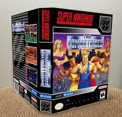 Combatribes, The SNES Game Case with Internal Artwork