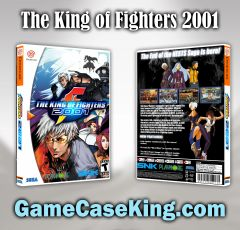 King of Fighters 2001, The Sega Dreamcast Game Case