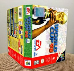 World Cup 98 N64 Game Case with Internal Artwork