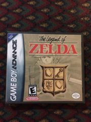 Legend of Zelda (The): Classic NES Series GBA Game Case