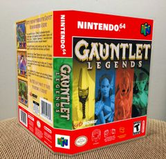 Gauntlet Legends N64 Game Case with Internal Artwork