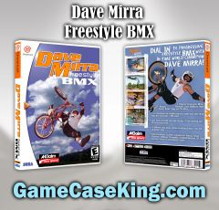 Dave Mirra Freestyle BMX Sega Dreamcast Game Case