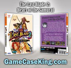 Last Blade 2: Heart of the Samurai, The Sega Dreamcast Game Case