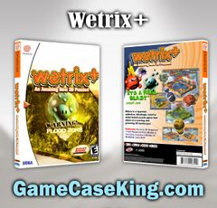 Wetrix+ Sega Dreamcast Game Case